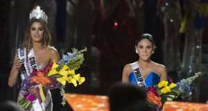 Miss Columbia, winner of Miss Universe contest