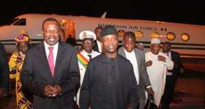 Osinbajo and interim President of Burkina Faso