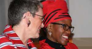 Canon Mpho Tutu and Marceline Furth