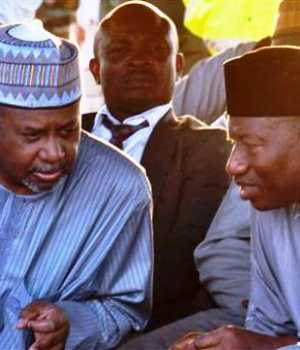 Goodluck Jonathan and Col. Sambo Dasuki