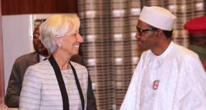 Lagarde and Buhari