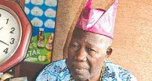 Olubadan in-waiting, High Chief Saliu AdetunjiOlubadan in-waiting, High Chief Saliu Adetunji