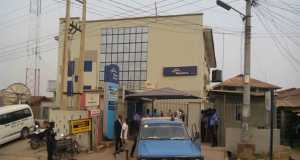 One of the sealed branches of Skye Bank in Osogbo