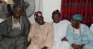 Tinubu, Ajimobi and members of the Olubadan-in-Council