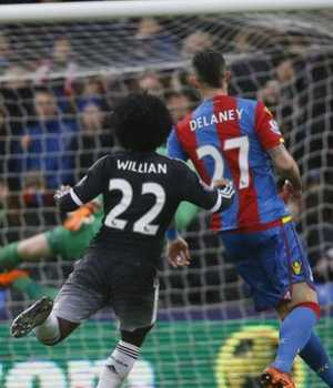 Williams scores against Palace