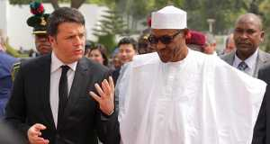 President Buhari and Prime Minister of Italy H.E. Matteo Renzi