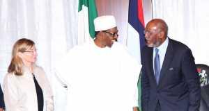 Buhari and USIP team