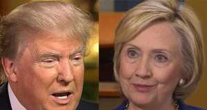 Donald-Trump and Hillary-Clinton