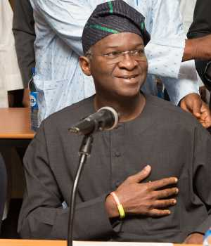 Babatunde Fashola, Minister of Power, Works and Housing