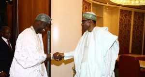 Ooni Ogunwusi and President Buhari
