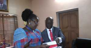 Ibim Semenitari and Zonal Head EFCC, Ishaq Salihu,