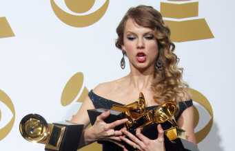 Taylor Swift, Grammys' Song of the Year Award Winner