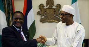 ECOWAS Commission, Ambassador Kadre Desire Ouedraogo and President Buhari