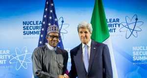 President Buhari and John Kerry