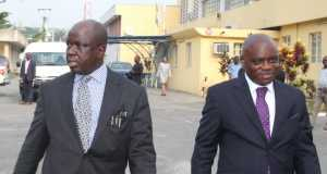 RICKEY TARFA AND JOSEPH NWOBIKE FROM EFCC LAGOS OFFICE TO THE COURTROOM. 003