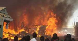 Sabon Gari market fire