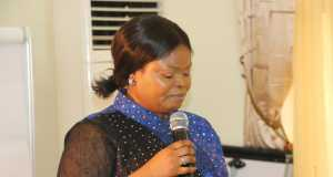 Senior Special Assistant to the President on Sustainable Development Goals, SSAP-SDGs, Her Excellency, Princess Adejoke Orelope-Adefulire at the SDGs retreat in Abuja