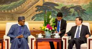 President Buhari and Li Keqiang, Premier of the State Council of the Peoples Republic of China
