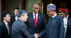 Buhari in Beinjing China