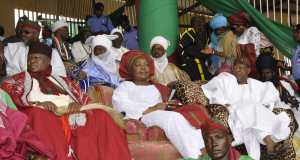 Minister of Information and Culture at the Nzem Berom Festival in Plateau State