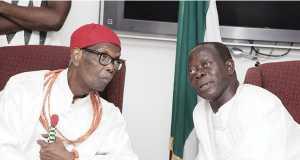 Oba-Erediauwa and Governor Adams-Oshiomhole