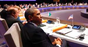 Obama and others at the Nuclear Security Summit