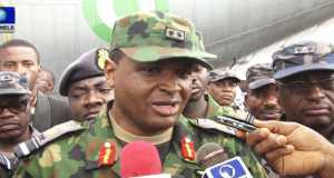Chief of the Air Staff, Air Marshal Sadique Baba Abubakar.