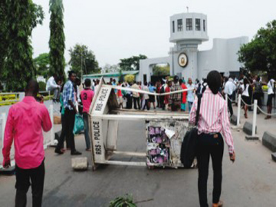 Image result for university of ibadan protest