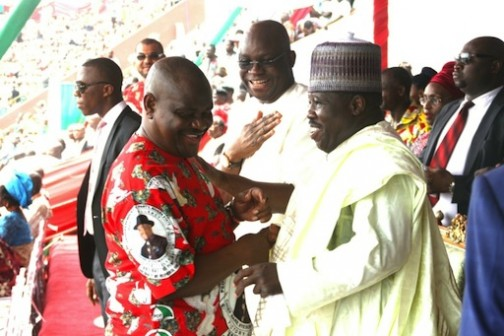How Modu Sheriff, Gov Wike Almost Fought Each Other at PDP Crisis Meeting