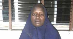 Another rescued Chibok schoolgirl, Serah Luka