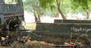 One of the trucks used by Boko terrorists