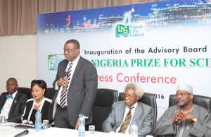 Nigeria Prize for Science Board members