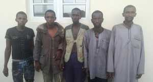 SUSPECTED HERDSMEN WHO ATTACKED NIMBO COMMUNITY