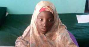 Miss Amina Ali, one of the Chibok Schoolgirls abducted