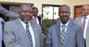 SON DG, Dr. John Akanya and EFCC Chsairman, Ibrahim Magu