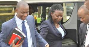 Azibaola Robert & Stella Roberts in Court on Tuesday