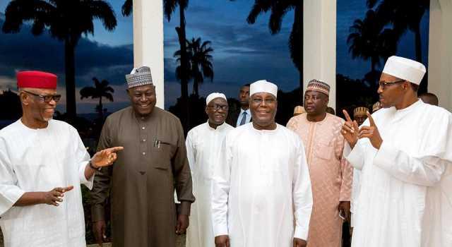Buhari and APC leaders