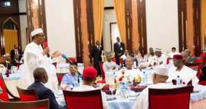 Buhari with business leaders