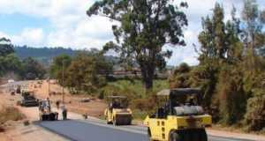 Construction work on Lagos-Ibadan-Expressway