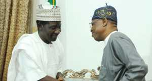 Lai Mohammed and Governor Simon Lalong