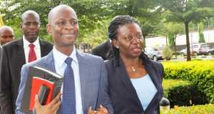 Mr & Mrs Azibaola Robert in court