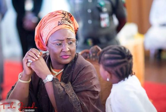 Aisha Buhari took personal interest in the matter of 16-y-o student of Day Secondary School Tunga Minna, who was impregnated by the vice principal