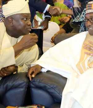 Governor Akinwunmi Ambode and Niger State Governor, Alhaji Abubakar Sani Bello,