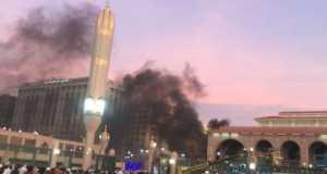 Bomb scene new Prophet Muhammad's mosque in Medina