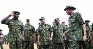 President Muhammadu Buhari has commended the Nigerian military for its dexterity, prowess and level of professionalism in combating the Boko Haram insurgency in the North East.