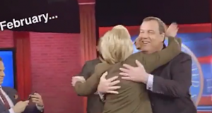 Clinton and Christie