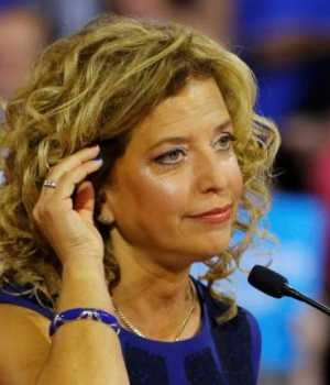 Democratic National Committee head Debbie Wasserman Schultz