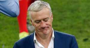 Didier Deschamps dejected