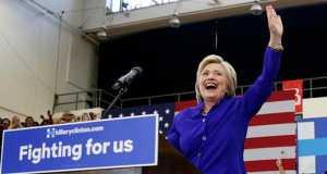 Hillary Clinton win DNC