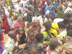 Children in Borno IDPs camp